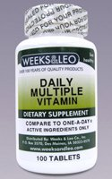 Daily Essential Multivitamin (NO EXPIRATION DATE)