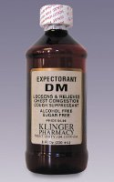 Expectorant DM A/F S/F Cough Syrup (BACKORDER)